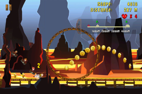 Madcoaster: un Monster Dash sulle montagne russe