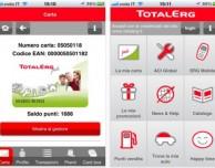 TotalErg, e la raccolta punti del l'omonimo distributore si fa su iPhone