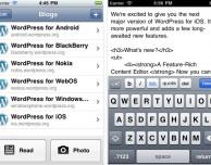 WordPress 2.9.6 disponibile su App Store