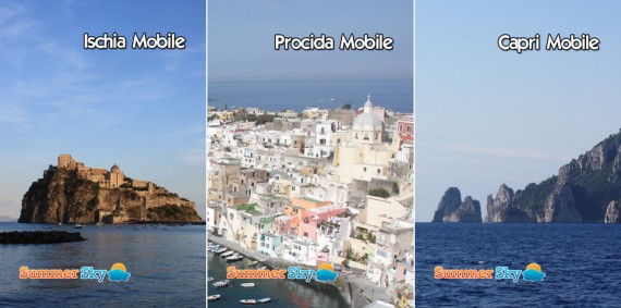 iPhoneItalia Quick Review: Ischia Mobile App, Procida Mobile e ...