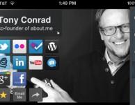 About.me, l'applicazione ufficiale arriva su App Store