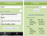 """Nutri Values – Conta calorie ricetta"" in offerta lancio gratuita"