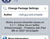 Ultrasn0w fixer consente di effettuare l'unlock delle vecchie baseband su iOS 5.1.1 – Cydia
