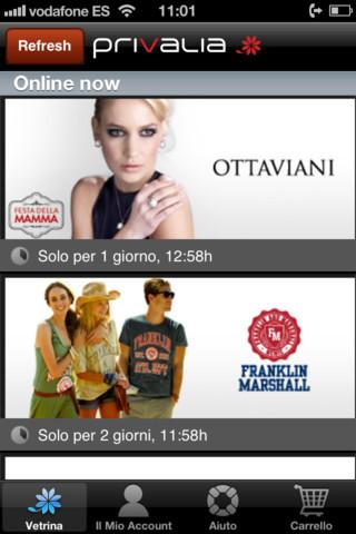 Iphoneitalia quick review idrinkwater privalia mobile e - Privalia mobile ...