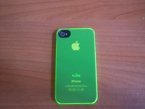 custodia iphone 7 verde fluo