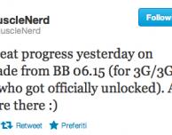 MuscleNerd compie importanti progressi per quanto riguarda il downgrade della baseband 06.15