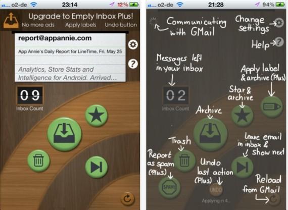 EmptyInbox for GMail , l'app per pulire velocemente la casella inbox di Gmail