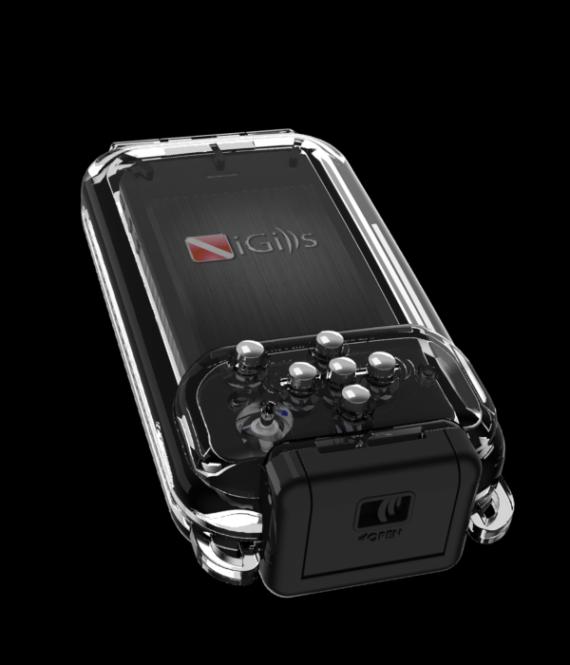 custodia iphone x subacquea