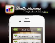Daily Income, una semplice app per monitorare entrate e spese