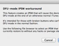 """Il Dev-Team rilascia Redsn0w 0.9.14b2: migliorato il downgrade dalla baseband 06.15 ed introdotta la funzione """"DFU IPSW"""""""