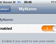 MyName, un nuovo tweak per personalizzare il logo operatore con il nostro nome – Cydia