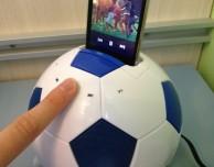 Mi-Football, un potente speaker a forma di pallone che si interfaccia con iPhone e iPod – La recensione di iPhoneItalia