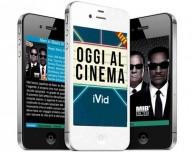 Oggi Al Cinema iVid, l'app gratuita per scoprire i film in programmazione nei cinema italiani