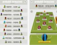 """Scopri le probabili formazioni della Serie A con l'app gratuita """"Formazioni"""""""