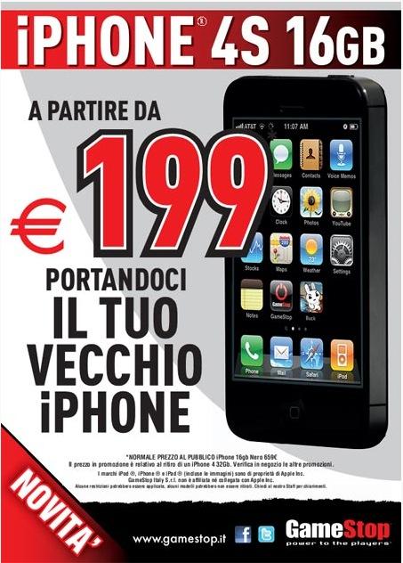 costo iphone 4 s usato