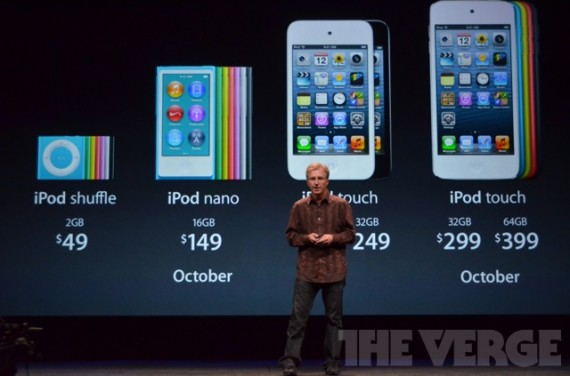 apple annuncia il nuovo ipod touch di quinta generazione