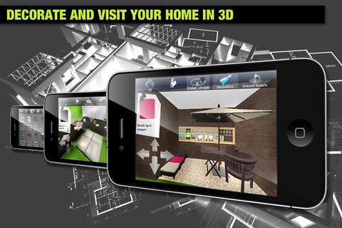 Home Design 3d Gold iphone screenshot 5 Home Design 3d Gold