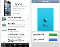 L'applicazione Apple Store si aggiorna con il supporto per iPhone 5