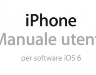 Disponibile il manuale utente in italiano di iPhone 5 e iOS 6