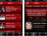 X Factor 2012: l'app ufficiale per seguire la trasmissione e votare i tuoi cantanti preferiti