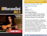 """Il dizionario dei film """" il Morandini 2013″ arriva su App Store"""