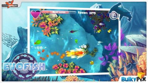 Evofish la catena alimentare in un gioco per iphone for Gioco arredare casa virtuale