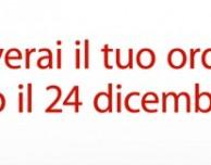 iPhone 5 per Natale? Ordinalo online entro il 12 dicembre