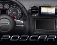 Nuovo importante aggiornamento per PodCar, l'app che trasforma l'iPhone in un mediacenter per auto