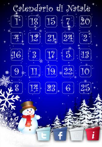 Natale Calendario.Calendario Di Natale Iphone Italia