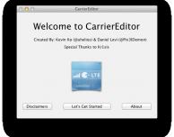 Come cambiare il logo operatore con CarrierEditor, anche senza jailbreak – Guida
