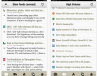 """Slow Feeds, il lettore di feed RSS """"lenti"""", si aggiorna con importanti novità"""
