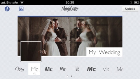 MagiCover- Facebook Timeline Cover Maker iPhone pic0