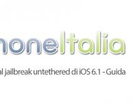 Come prepararsi al jailbreak untethered di iOS 6.1 – Guida