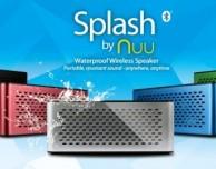 CES 2013: NUU Splash, arrivano gli speaker Bluetooth impermeabili