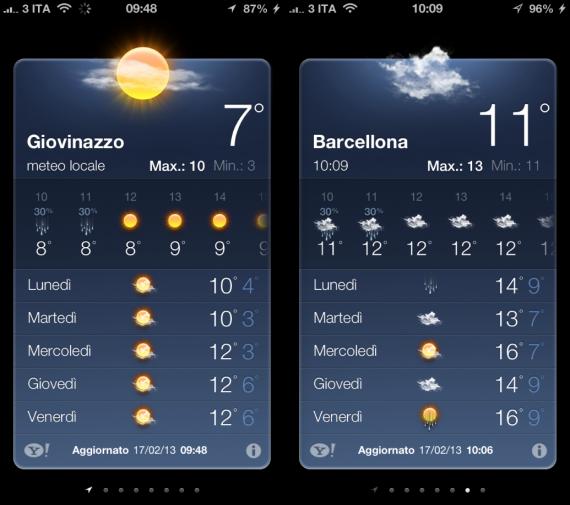 Meteo Fix iOS 6.x iPhone
