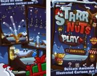 Starry Nuts: Pipistrelli contro palle di Neve