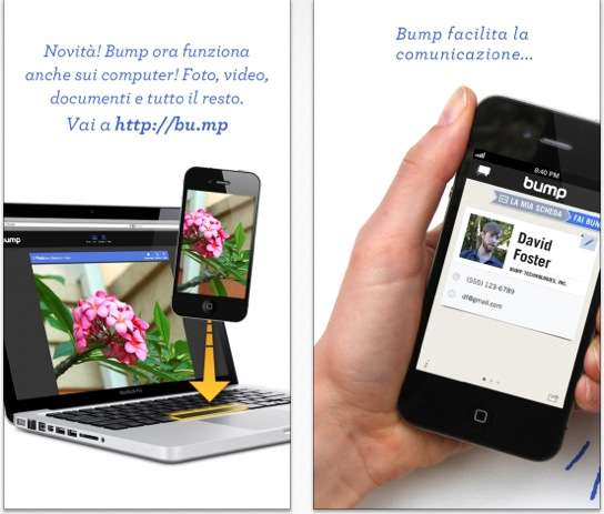 bump bluetooth iphone