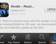 Attenzione ad aggiornare Kindle per iOS: l'ultimo update cancella completamente la libreria