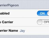 Come personalizzare il logo operatore con CarrierPigeon – Cydia