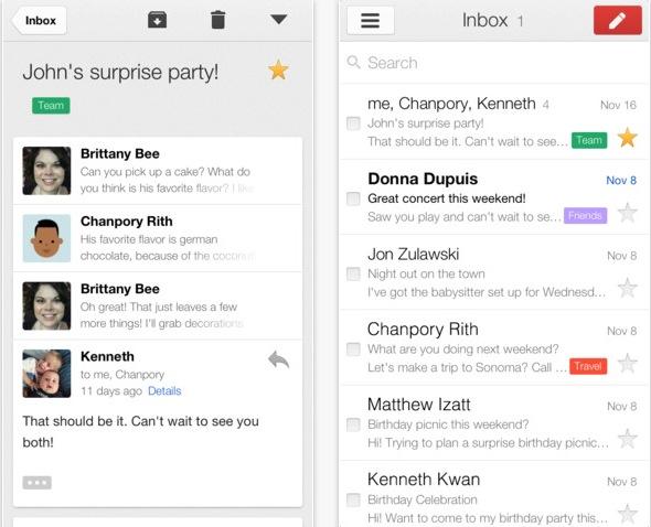 Gmail si aggiorna con un nuovo modo per sfogliare le e-mail