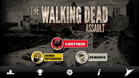 The Walking Dead - Assault iPhone pic0