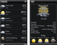 Temps mobile: nuova app meteo per iPhone e iPad