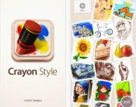 Crayon Style: nuova applicazione per disegnare su iPhone