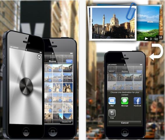 InstaMail Foto e video: allegare più di 5 foto e video per e-mail, SMS, Facebook