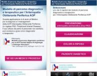 Disponibile l'app AOP – Modello di percorso diagnostico e terapeutico per l'Arteriopatia Obliterante Periferica