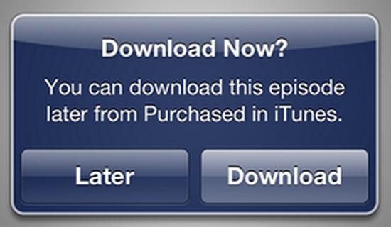 Apple aggiunge la possibilità di scaricare film e serie TV in un secondo momento tramite iTunes in the Cloud