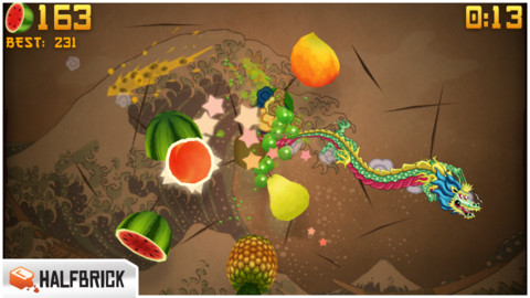 il gioco fruit ninja