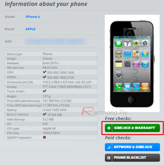 Come verificare autenticità iphone 5