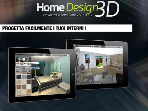 Home design 3d si aggiorna l 39 app che ti fa arredare casa for Arredare 3d