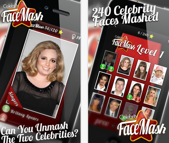 Celebrity FaceMash - OUT NOW on iOS and Android - youtube.com